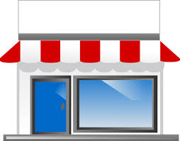 shop clipart French Property for sale
