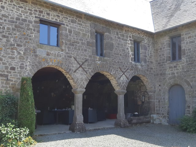 beautiful stone house with gites
