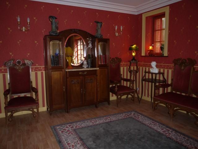 salon de musique 3 Small Prestigious Normandy Property