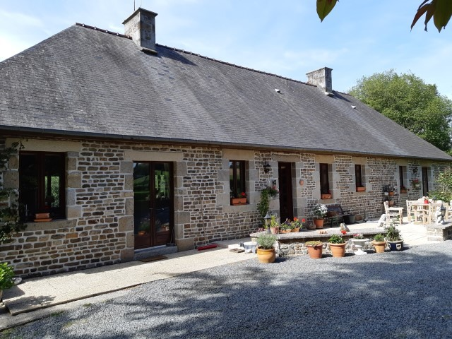 A Normandy stone house