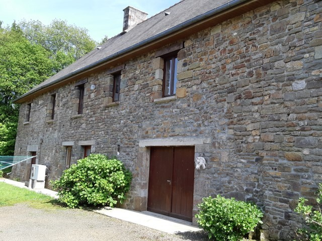 Normandy stone house