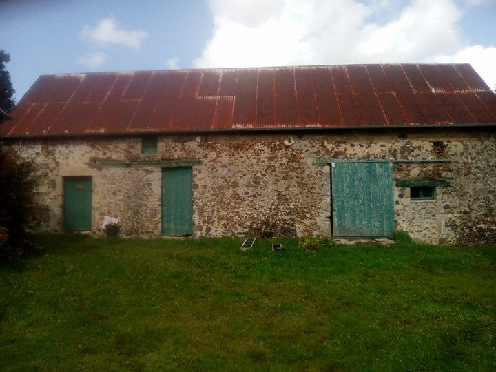 Farmhouse gite outbuildings campsite land