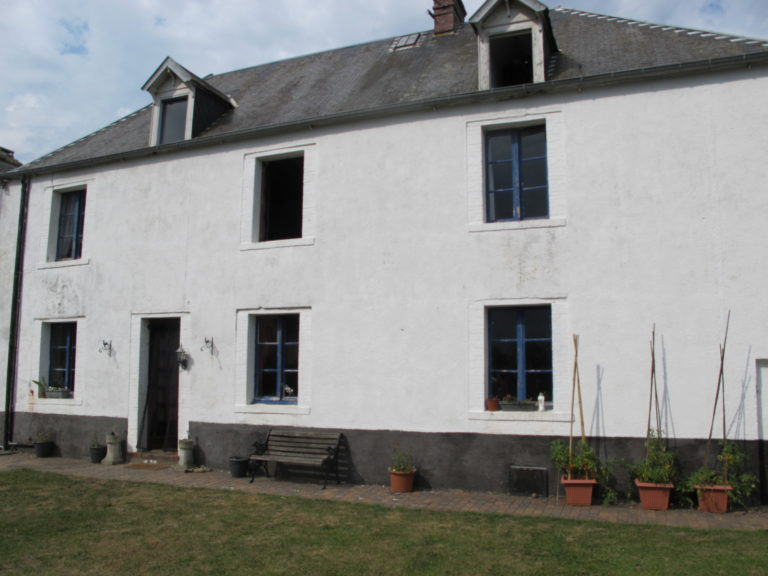 Farmhouse gite outbuildings land