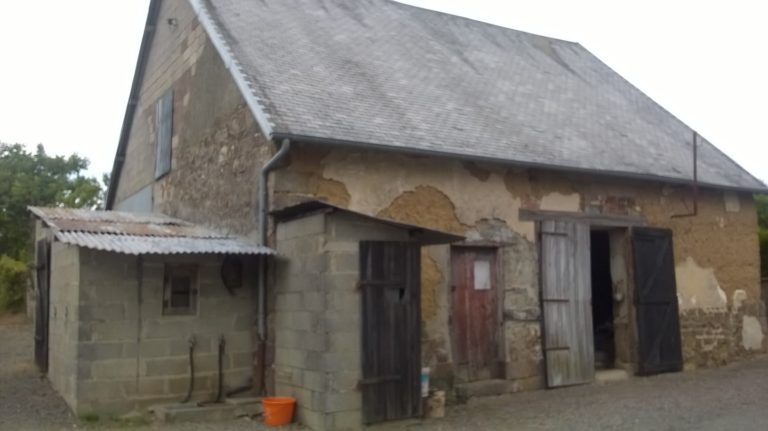 Normandy farmhouse outbuildings land