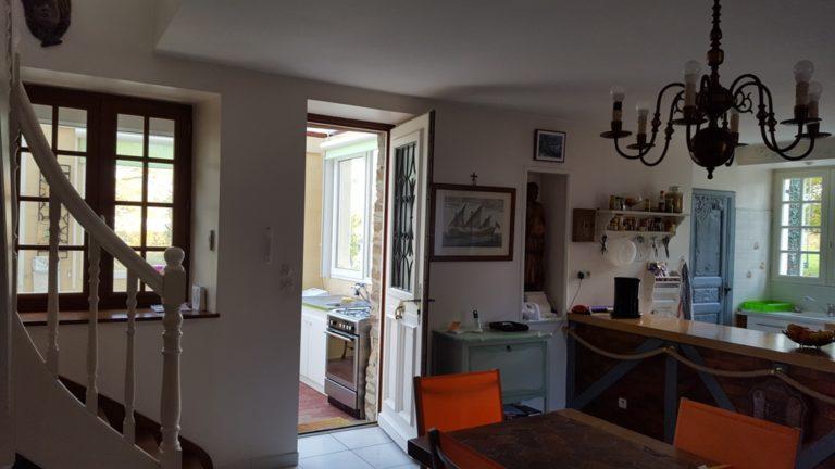 Restored longere in Calvados