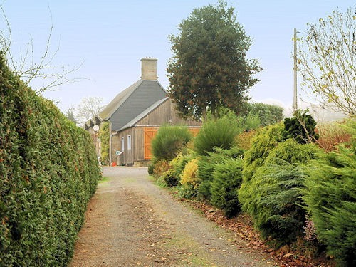 terrein6 Normandy house gite grounds