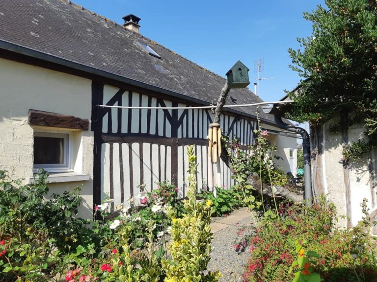 Normandy House outbuildings and gardens