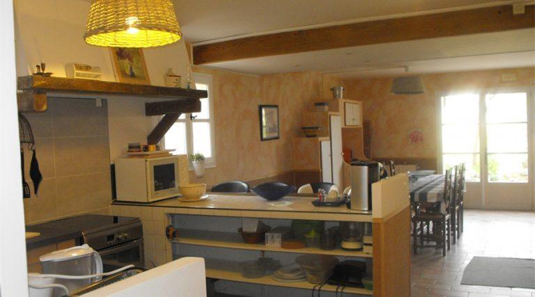 murier cuisine.salon Panoramic Gite Complex