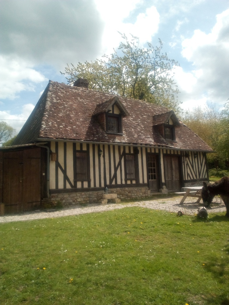 Normandy colombage home