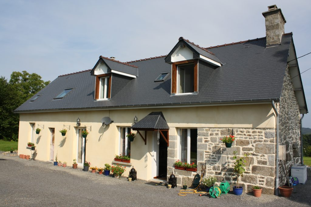 Renovated home with gite