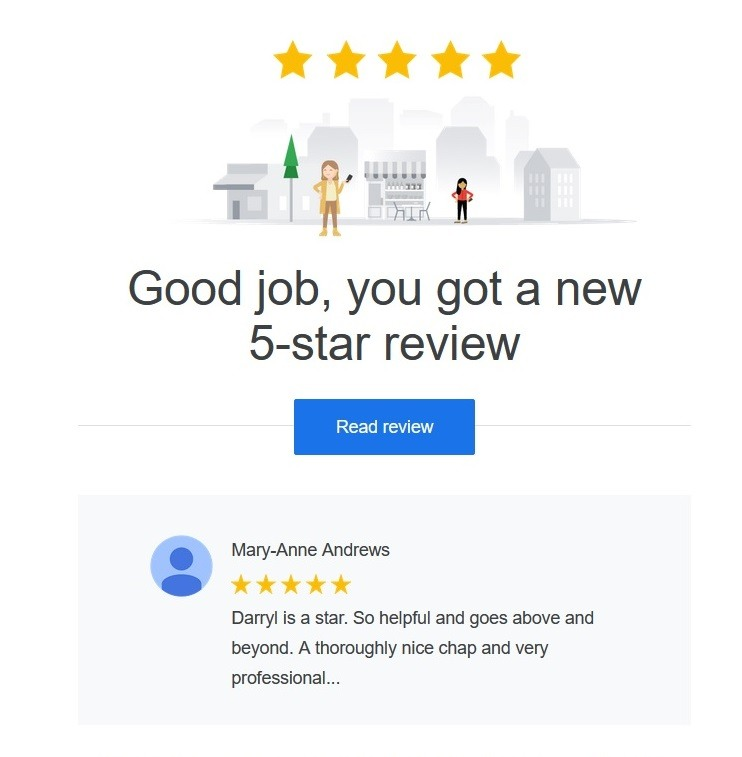 Google review again