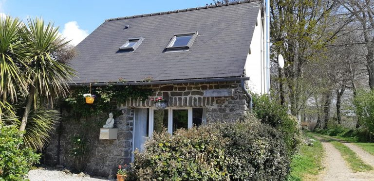 Stone house with gite in Normandy