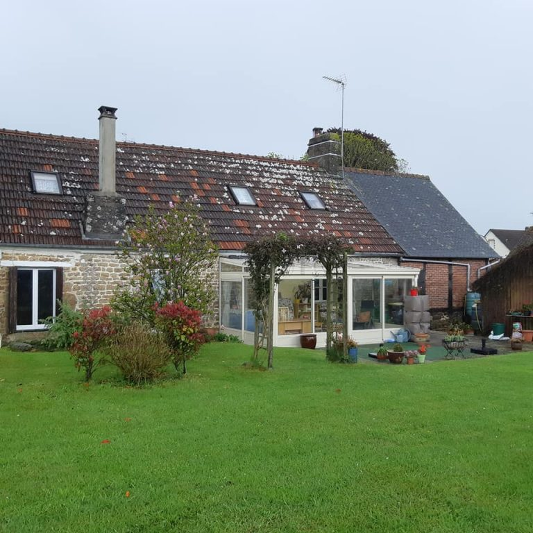 Homely village house for sale in the Orne