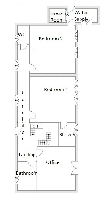 Anica plan 1st floor 1 3 storey house with workshop