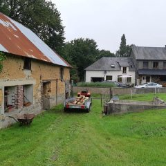 French farmhouse with land